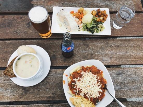 Lunch In Doolin